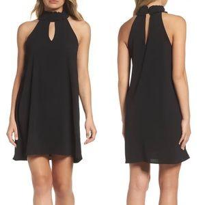 Mary & Mabel Sleeveless Choker Collar Dress